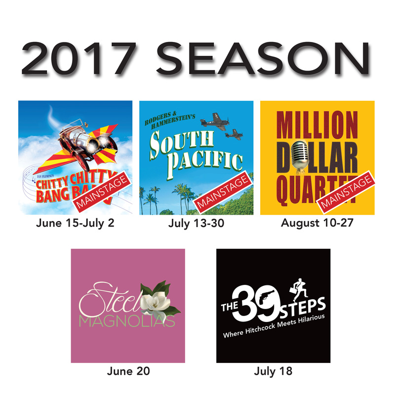 2017 Season/ Ticket Form - CdA Summer Theatre